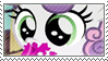 Cute young sweetie belle stamp by Stamp-Master