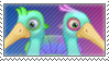 Quibble stamp by Stamp-Master