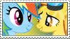 Point-C : Rainbow DashXSpitfire by Stamp-Master