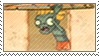 Surfer Zombie stamp by Stamp-Master