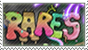 Rares monsters stamp by Stamp-Master