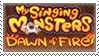 My singing monster dawn of fire stamp by Stamp-Master