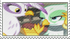 Gilda and Greta stamp by Stamp-Master