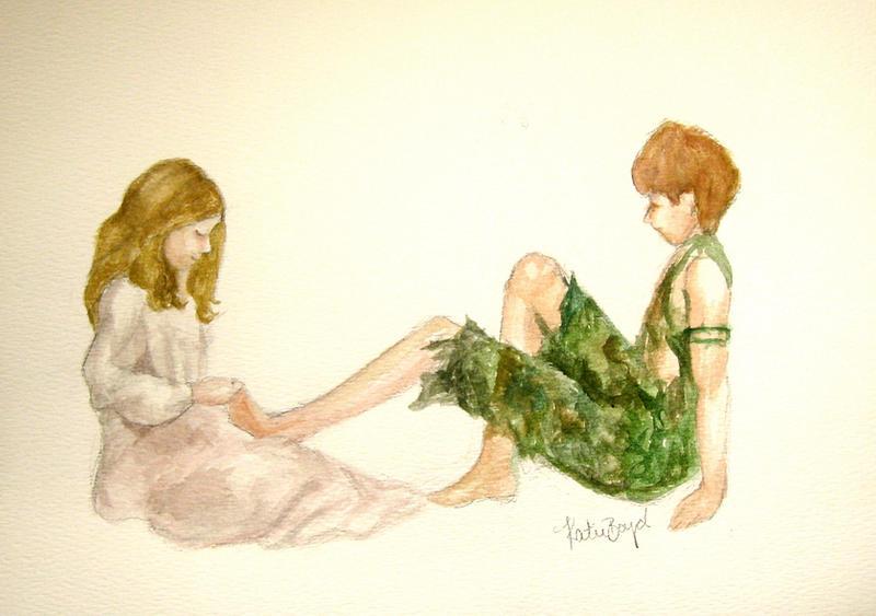I Never Cry--- Peter Pan by LambOfTheLionxox