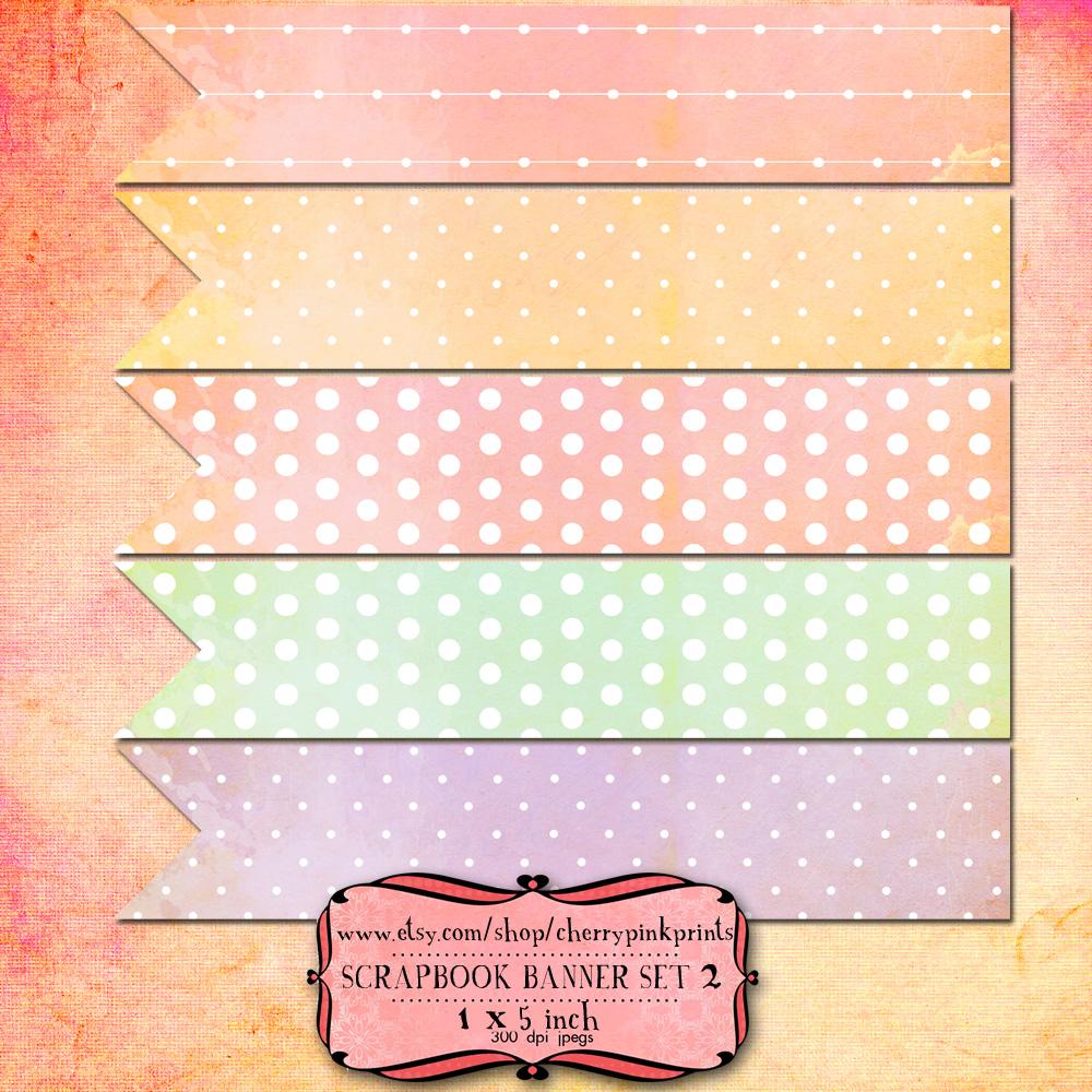 10 Scrapbook Banners By Miabumbag On Deviantart