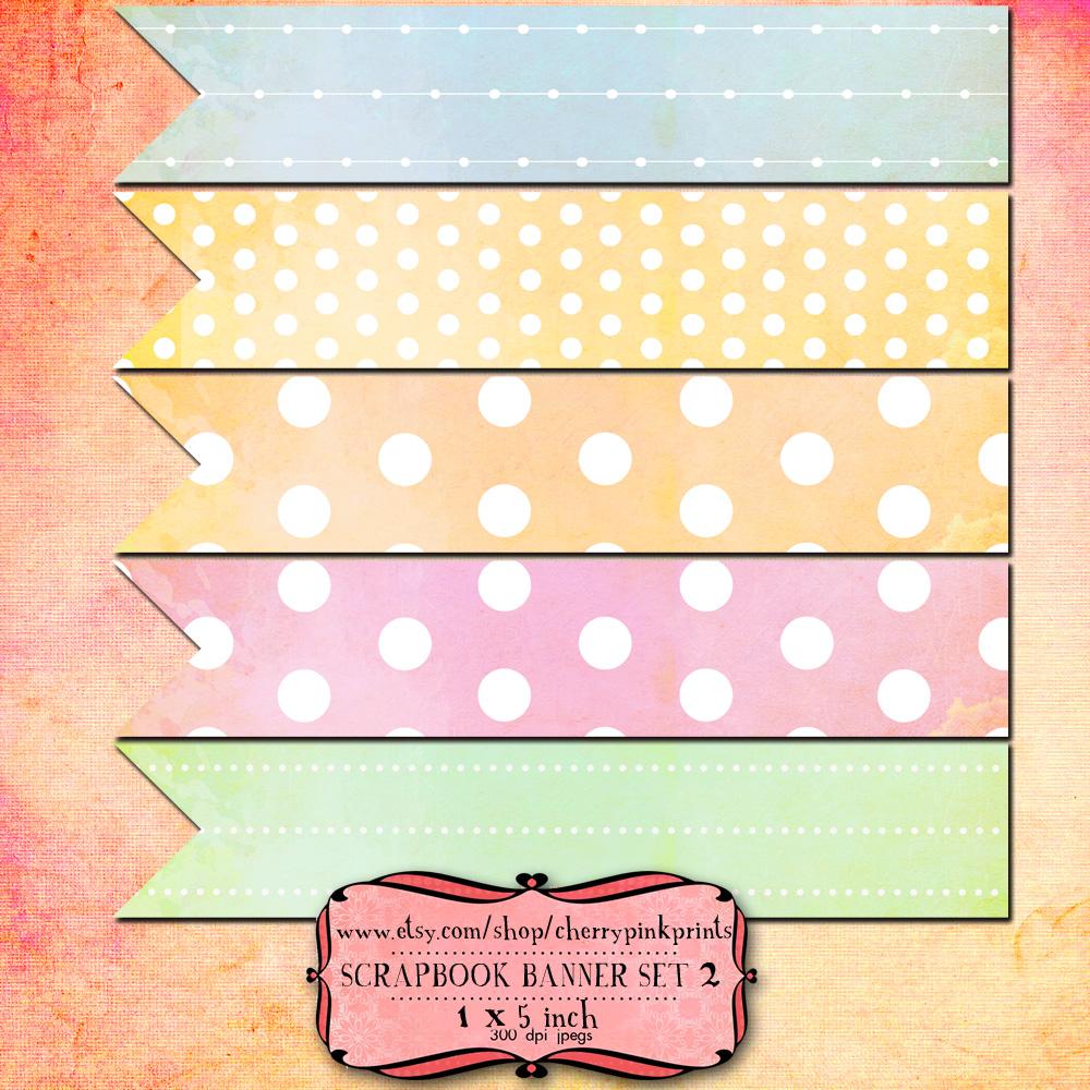 10 Scrapbook Banners Set 2 By Miabumbag On Deviantart