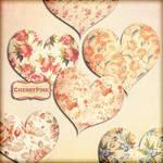 FLOWER HEART Clipart, flower png files