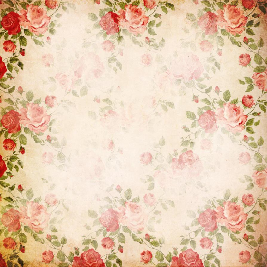 Scrapbook paper designs - Flower Scrapbook Paper By Miabumbag