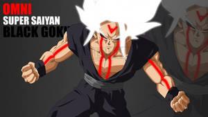 Super Saiyan White, Black Goku by Mitchell1406