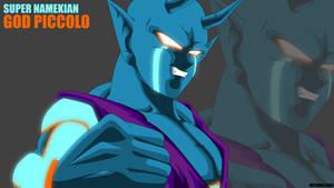 Super Namekian God Piccolo by Mitchell1406