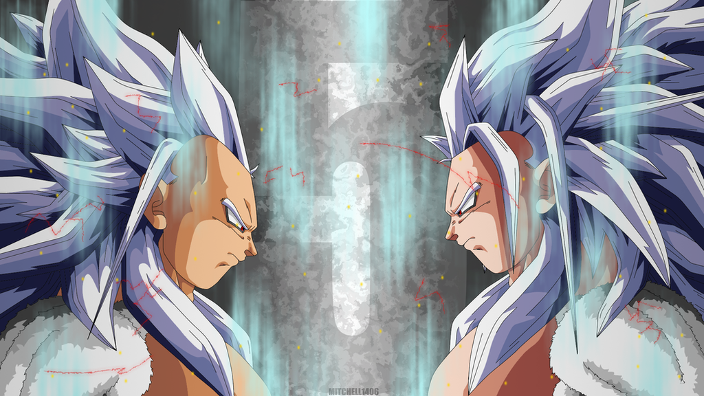 Goku And Vegeta Super Saiyan 5 By Mitchell1406 On Deviantart