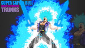 God of Destruction Trunks (Aura Remastered) by Mitchell1406