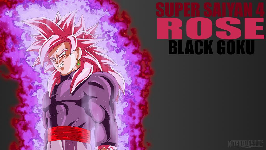 Goku Black Ssj Rose Para Colorear: SSJ4 Rose Black Goku By Mitchell1406 On DeviantArt