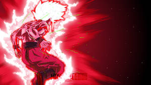 OSSJ Goku Kaiokenx100 by Mitchell1406