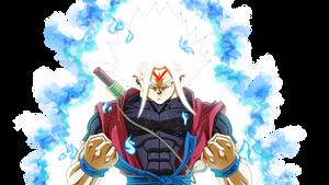 Omni SSJ, Xeno Goku by Mitchell1406