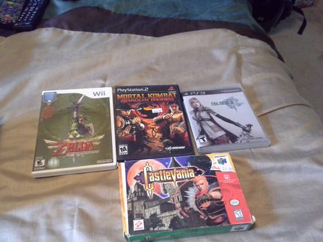 All Four My Games