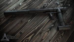 Homemade Zip-Gun Render by Rafael-De-Jongh