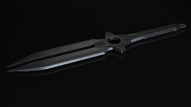Darker Than Black -Hei's Dagger - Final Render