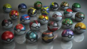 Pokeball's Test Render by Rafael-De-Jongh