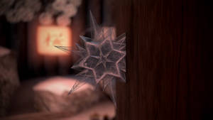Ice Throwing Star Render