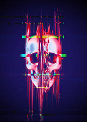 Glitch Skull - Full Format