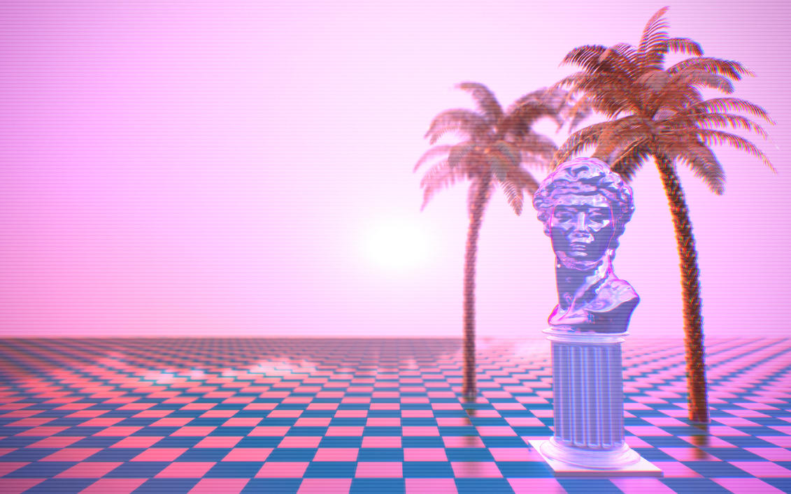 Vaporwave Aesthetic by Rafael-De-Jongh