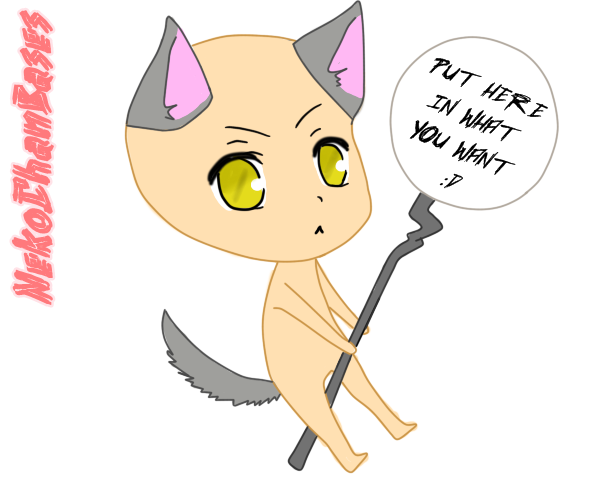Chibi Neko Base by NekoChanBases on DeviantArtAnime Chibi Neko Base