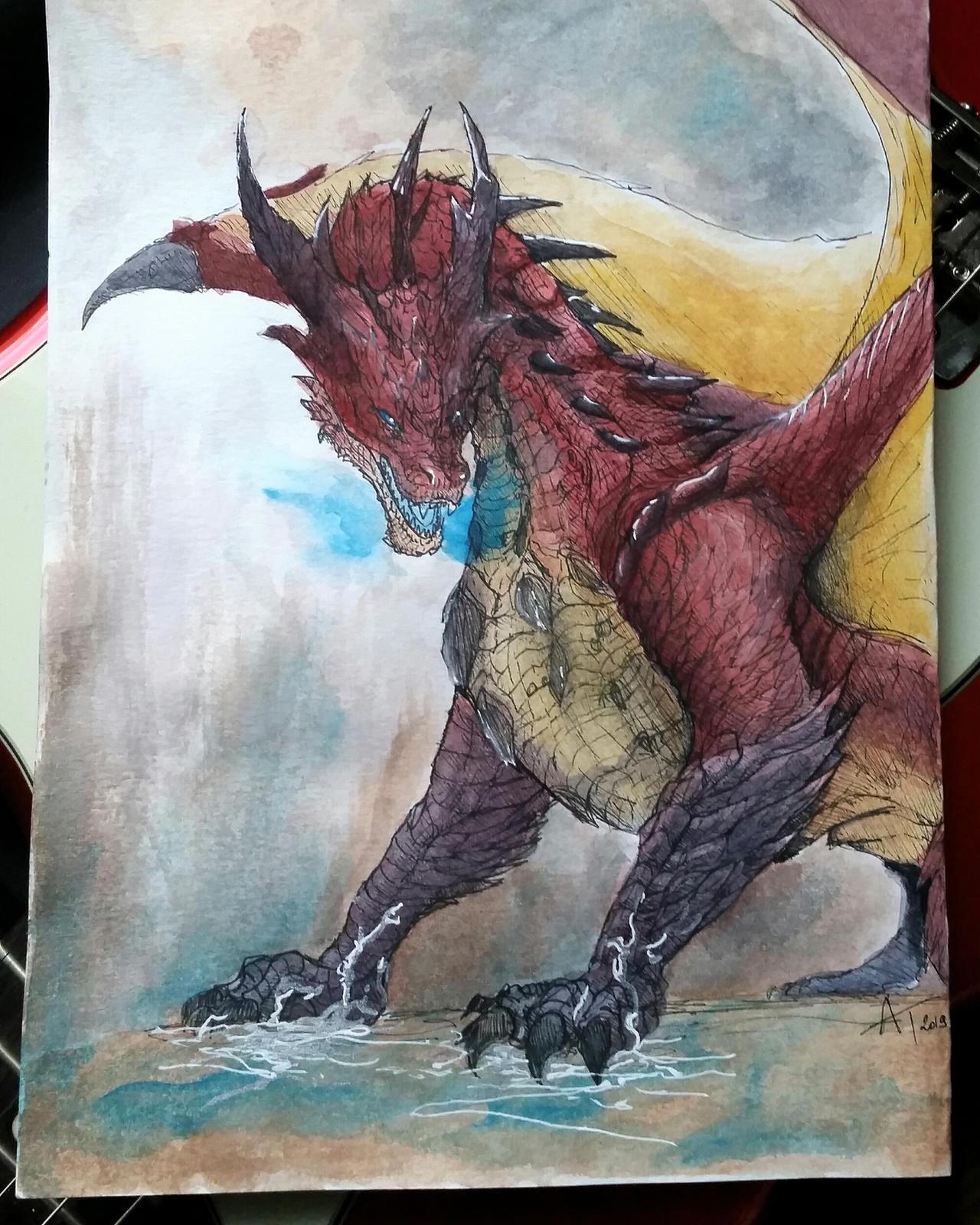 Monster Hunter World Iceborne Safi Jiiva By Yian Garuga Anonyme