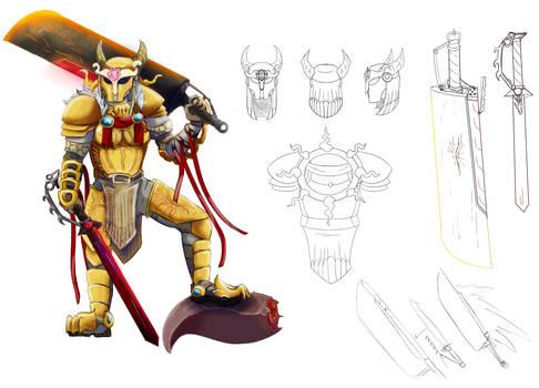 Larah ref 2020 - OC from a Monster Hunter RP