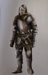 Dark Souls III Knight study
