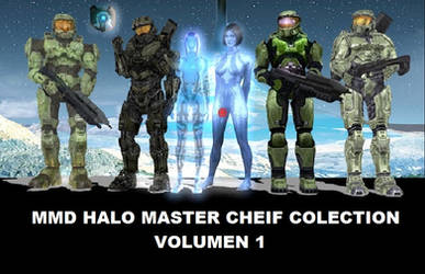 MMD PMD Halo 2014 Stuff DL by UnrealXActor