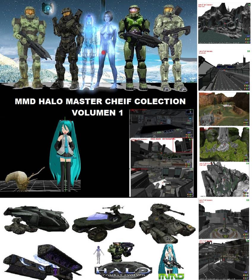 MMD PMD Halo 2014 Stuff DL by UnrealXActor on DeviantArt