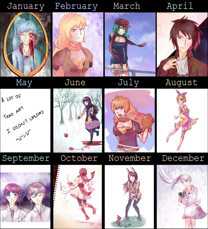 2014 Art Summary by luckcharm