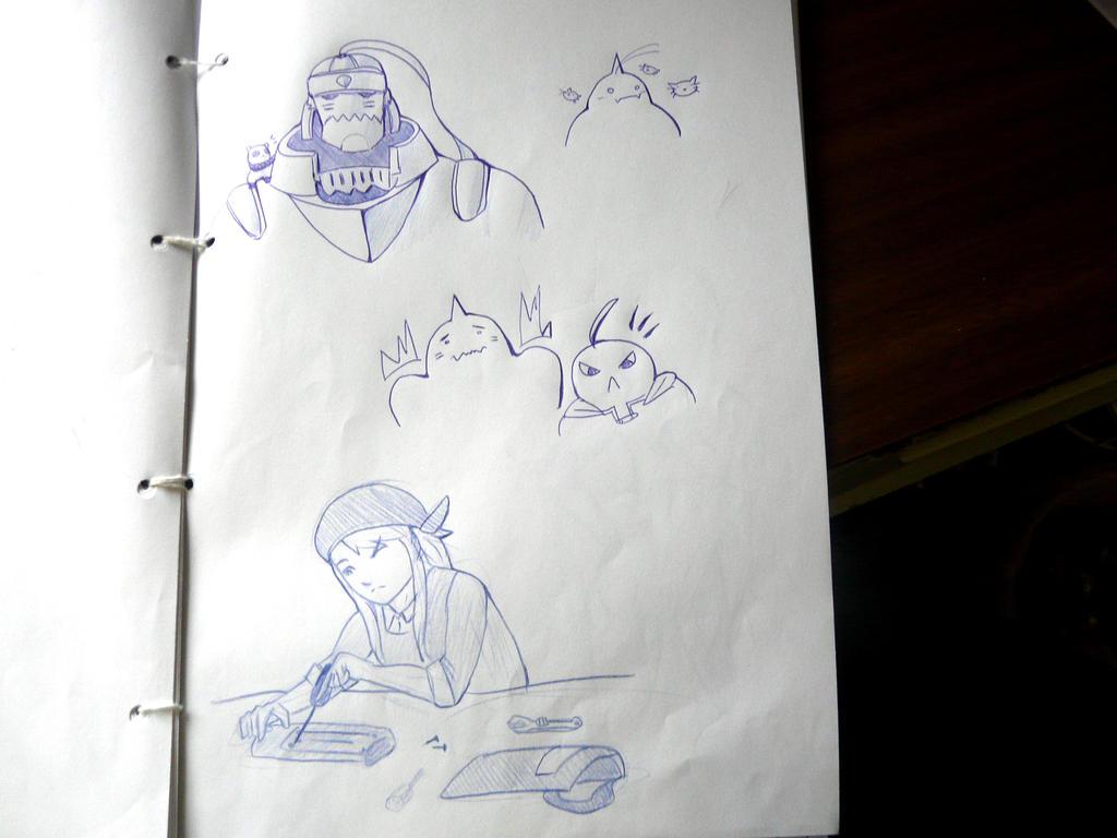 FMA doodle dump by luckcharm
