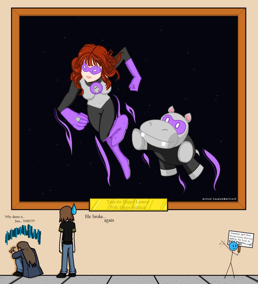 WTFIWWY? Tara The Hippo Lantern by YouAskMeFirst2