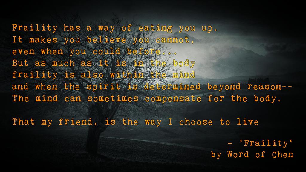 Fraility by WordOfChen