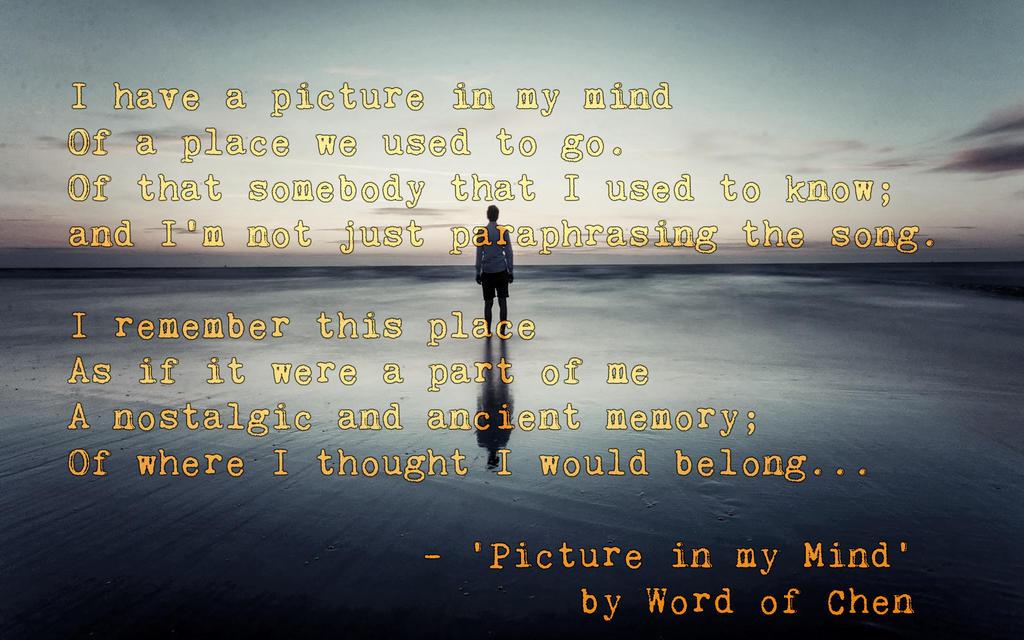 Picture in my Mind by WordOfChen