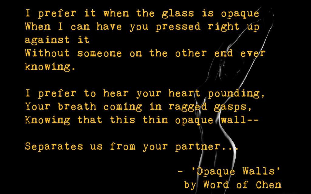 Opaque by WordOfChen