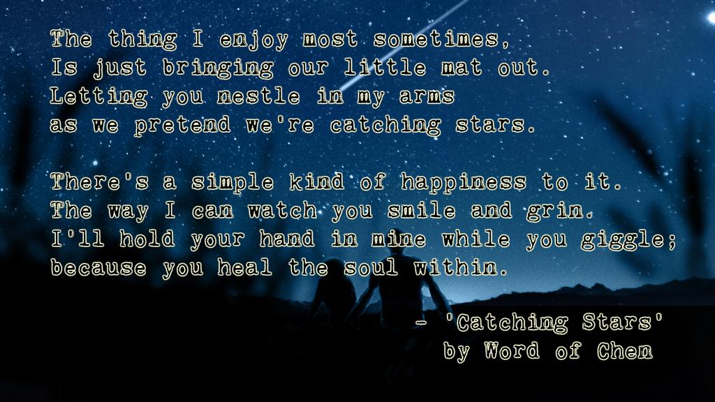 Catching Stars by WordOfChen