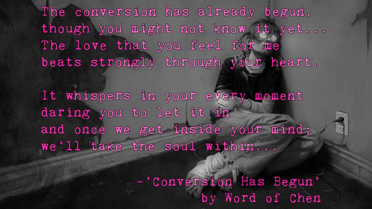 Conversion Begun by WordOfChen
