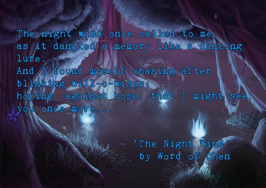 The Night Wind by WordOfChen