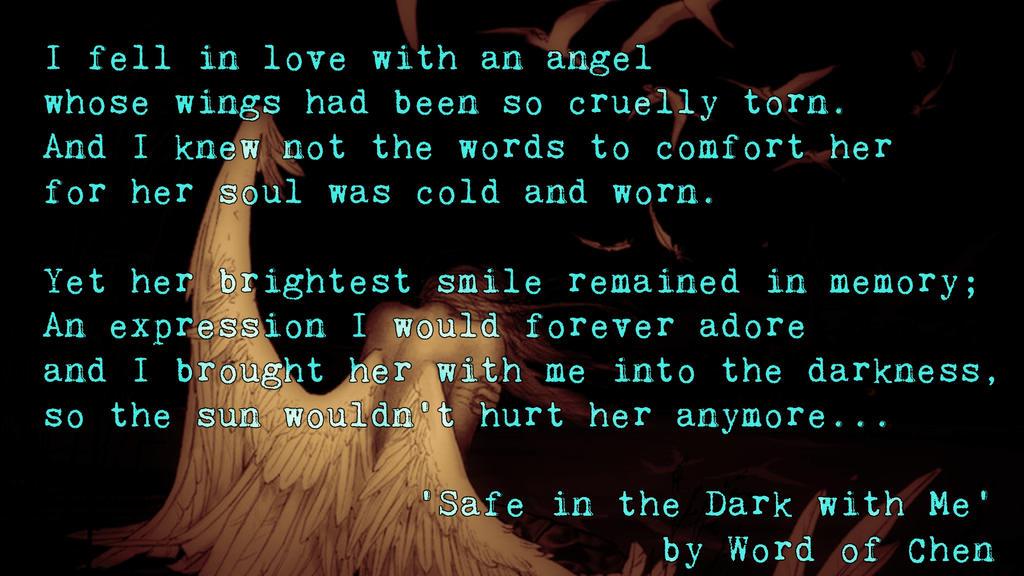 Safe in the Dark With Me by WordOfChen