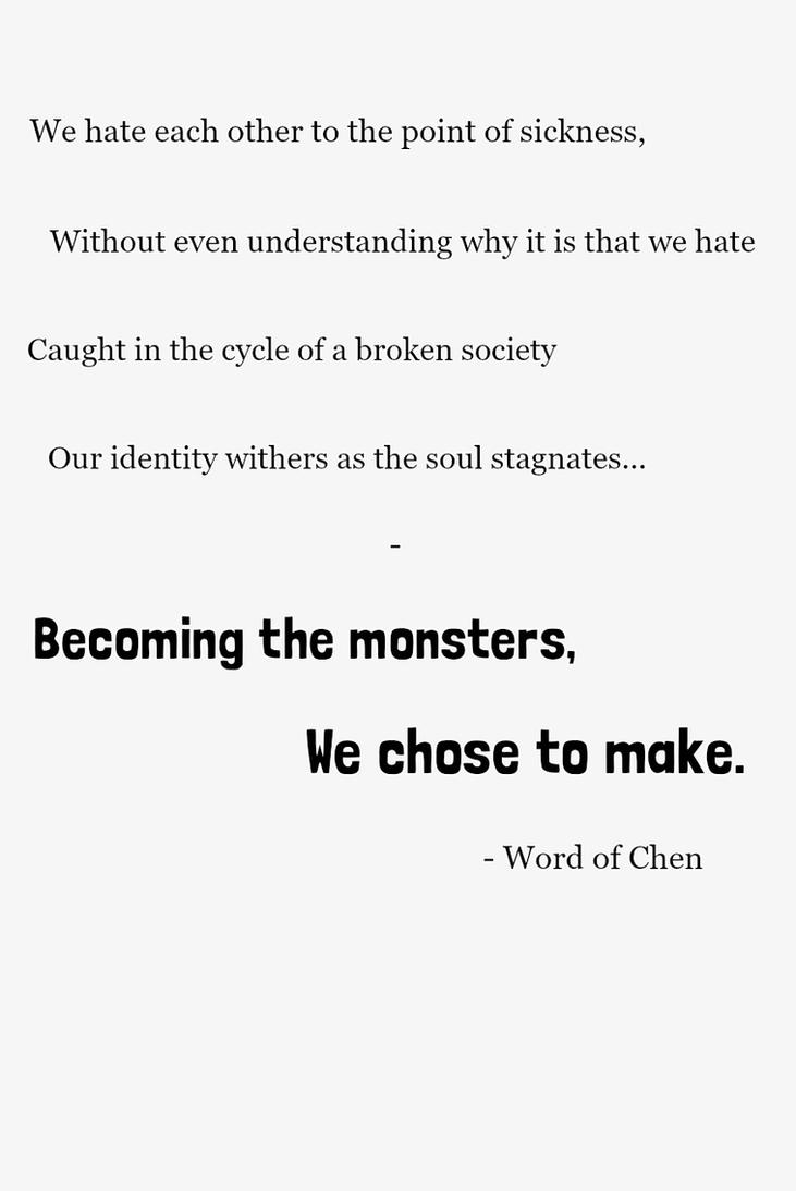 We Are by WordOfChen