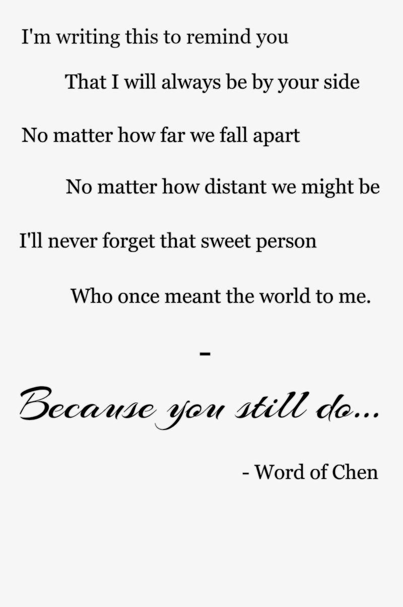 Even When You're Gone by WordOfChen