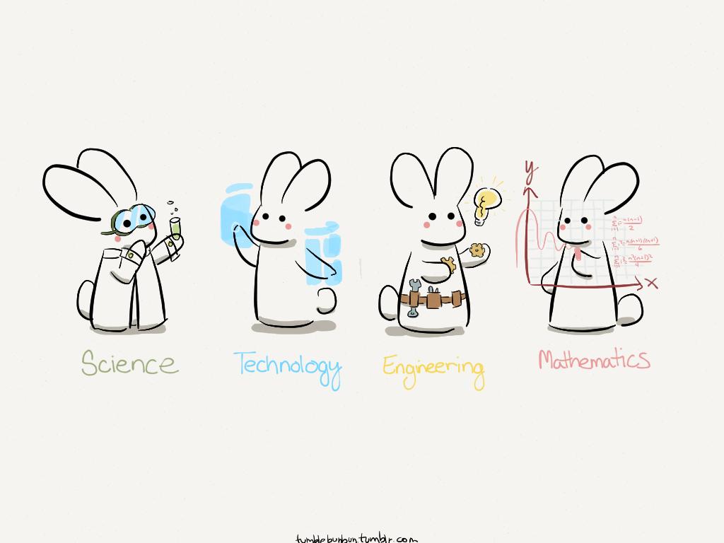 STEM Bunnies by uberbunbun