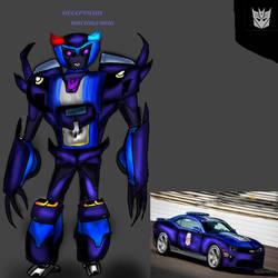 TF OC- Racingfang by liongirl2289