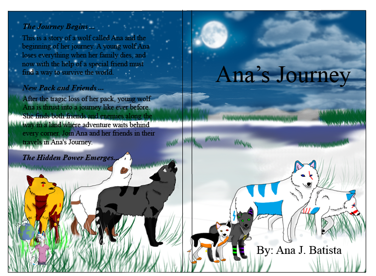 Ana's Journey Anniversary Book cover by liongirl2289