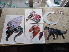 Stained glass progress