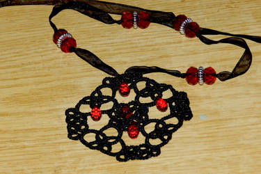 Handmade medallion ''Bloody Rain'', FOR SALE by Onatra