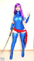 Psylocke cosplay by Atai